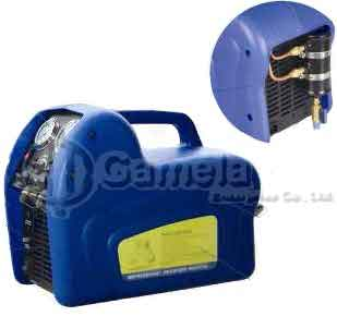 50890S - Refrigerant-Recovery-Unit-BLUE-1-2-HP-1-piston-Oil-Separator