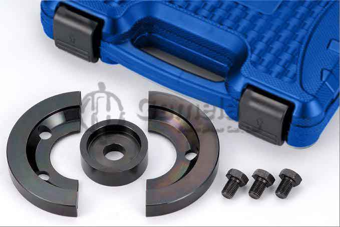57007-F - Half-Shell-Coupling-Black-For-Bearing-O-72-mm
