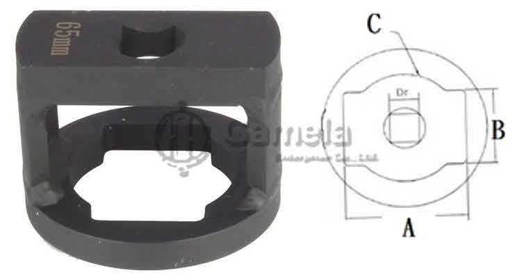 59021-FA - Wheel-Capsule-And-Axle-Nut-Socket-65mm