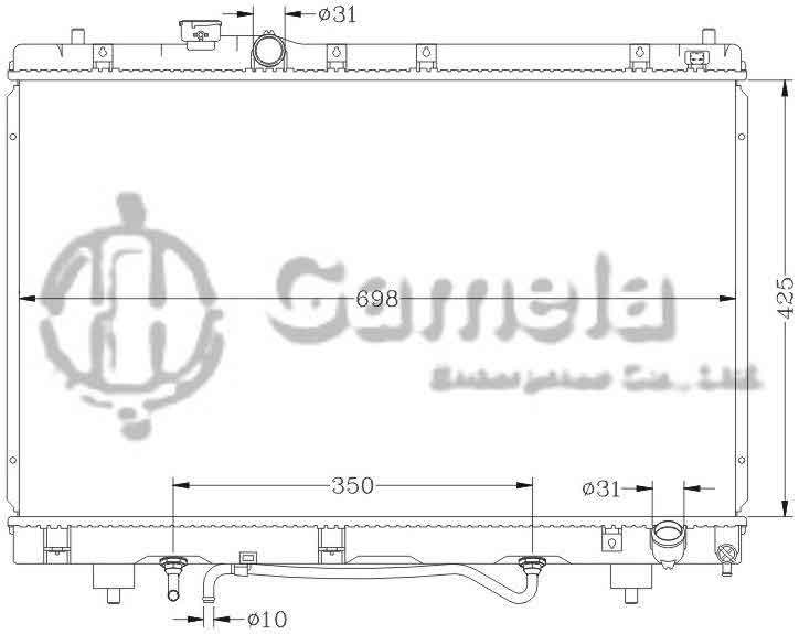 6112025N - Radiator-for-TOYOTA-IPWUM-PICNIC-96-SXM15-AT-OEM-16400-7A351-7A260-7A261
