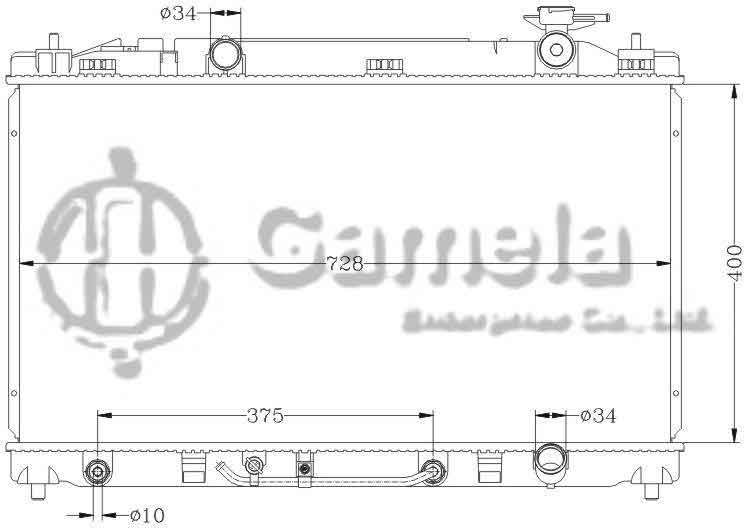 6112047N - Radiator-for-TOYOTA-CAMRY-06-ACV40-AT-OEM-16400-0H291-0H220-DPI-2917