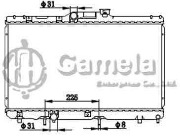 toyota 1 8 diagram radiator 6192025300 t gamela enterprise  radiator 6192025300 t gamela enterprise